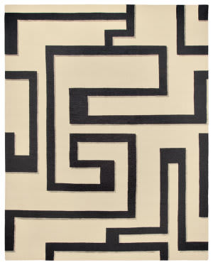 Due Process Century Troy Panda Area Rug