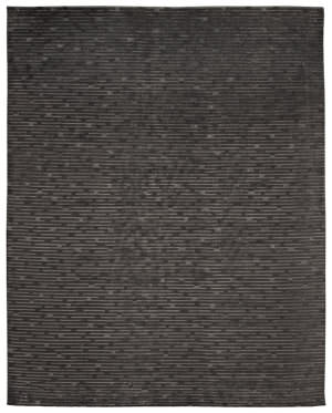 Due Process Century Virgil Charcoal Area Rug
