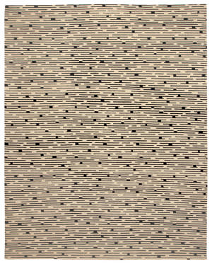 Due Process Century Virgil Newsprint Area Rug