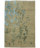 Due Process Adaptations Branches Sea Foam Area Rug