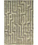 Due Process Adaptations Maze Silver Area Rug