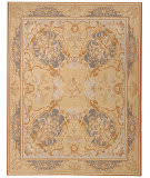 Due Process Aubusson Etienne Ivory - Blue Area Rug
