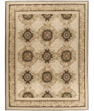 Due Process Aubusson Gueret Pink - Brown Area Rug