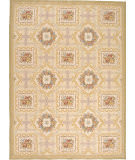Due Process Aubusson Bernay Ivory - Gold Area Rug
