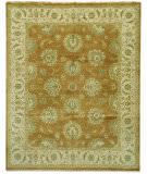 Due Process Benares Agra Bronze - Ivory Area Rug