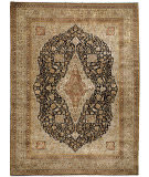 Due Process Benares Mohtesham Black - Beige Area Rug