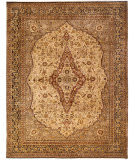 Due Process Benares Mohtesham Cream - Black Area Rug