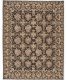 Due Process Bessarabian Norfolk Black Area Rug