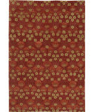 Due Process Empress Arts And Crafts Red Area Rug