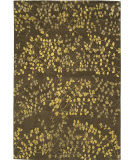Due Process Empress Leaves Brown Area Rug