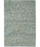 Due Process Empress Leaves Steel Area Rug