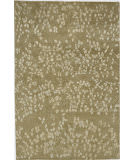 Due Process Empress Leaves Straw Area Rug