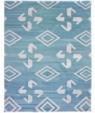 Due Process Flatweave Waltz Of Arabian Teal Area Rug