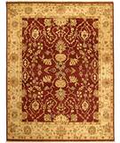 Due Process Jagapatti Lilihan Garnet-Soft Gold Area Rug