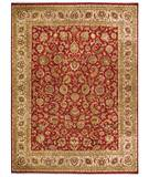 Due Process Jagapatti Yezd Tomato-Cream Area Rug