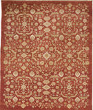 Due Process Jinan Ferrahan Red Area Rug