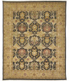 Due Process Jinan Mahal Brown - Gold Area Rug