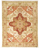 Due Process Jinan Serapi Cream - Light Gold Area Rug
