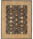Due Process Jinan Tehran Black - Dark Gold Area Rug