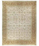 Due Process Kalasha Yezd Cream - Gold Area Rug