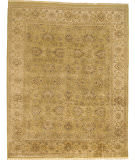 Due Process Kandahar Agra Light Olive - Ivory Area Rug