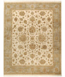 Due Process Kashmir Agra Ivory - Light Blue Area Rug