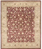 Due Process Kashmir Isphahan Red - Gold Area Rug