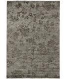 Due Process Katari Floral Bamboo Grey Area Rug