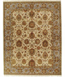 Due Process Kendra Sultanabad Ivory - Light Blue Area Rug