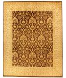 Due Process Khyber Meshed Brown-Cream Area Rug