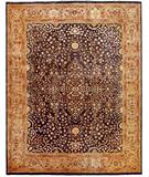 Due Process Khyber Sarouk Denim-Champagne Area Rug