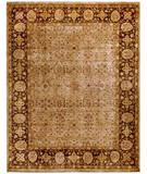 Due Process Khyber Tabriz Cream-Walnut Area Rug