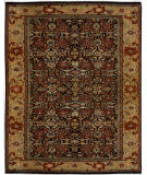 Due Process Khyber Bidjar Black/Gold Area Rug