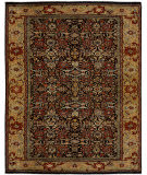 Due Process Khyber Bidjar Black - Gold Area Rug
