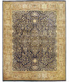 Due Process Khyber Sarouk Denim - Champagne Area Rug