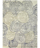 Due Process Lhasa Fingerprints Ivory - Gold Area Rug