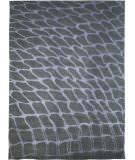 Due Process Lhasa Fish Net Grey - Silver Area Rug