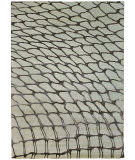 Due Process Lhasa Fish Net Ivory - Fawn Area Rug