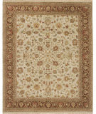 Due Process Mirzapur Kashan Ivory - Brown Area Rug