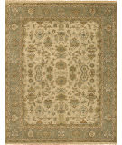 Due Process Mirzapur Mahal Beige - Light Green Area Rug