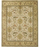Due Process Mirzapur Shield Ivory - Light Gold Area Rug