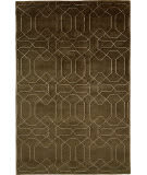 Due Process Nouveau Honeycomb Chocolate Area Rug