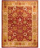 Due Process Peshawar Oushak Rust-Sage Area Rug