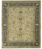 Due Process Peshawar Ziegler Cream-Soft Blue Area Rug