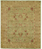 Due Process Peshawar Sultanabad Pistachio - Gold Area Rug