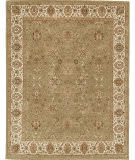 Due Process Rambagh Agra Light Green - Ivory Area Rug