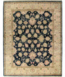 Due Process Thana Agra Graphite - Fawn Area Rug