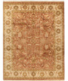 Due Process Thana Oushak Brick - Cream Area Rug