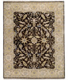 Due Process Thana Oushak Chestnut - Cream Area Rug