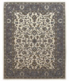 Due Process Tufted Tehran Ivory - Frost Grey Area Rug